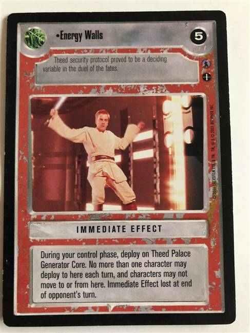 REFLECTIONS III star wars ccg swccg played Scoundrel Lando Calrissian