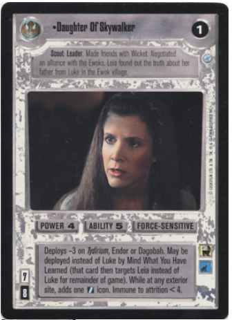 Star Wars CCG A New Hope Unlimited WB Bowcaster