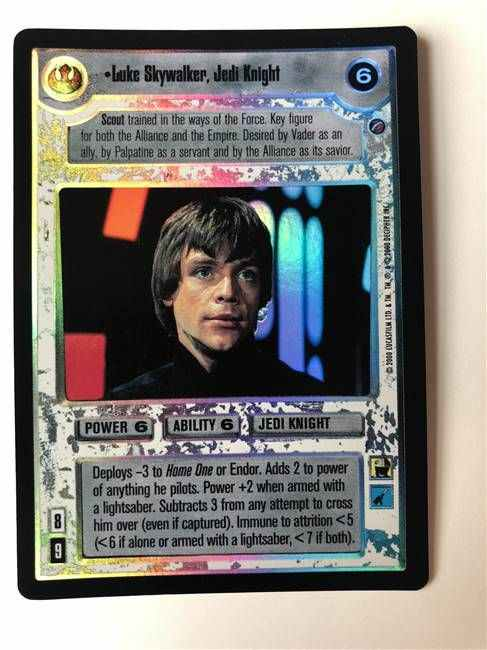 Star Wars CCG Reflections 3 III Foil Mace Windu